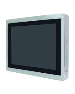 """24"""" Industriële embedded panel PC met PCAP scherm voor een bediening met een touch stylus of medische handschoenen."""