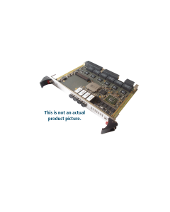 6U VPX VITA 65.0 1/10 Gb Switch 4x SFP+