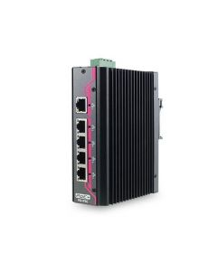 EDX-104J 5-port IEEE 802.3at PoE+ unmanaged Gigabit Ethernet switch