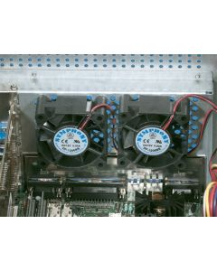 Heitec Fan axial 12VDC 60x60mm 1PU=2pcf
