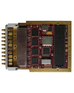 Abaco FMC108 FPGA Mezzanine Card met 8 A/D 14-bit 250 MSPS channels. Contacteer Arcobel.com.