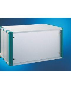 "Heitec HC Back panel 7U/ 1/2 19"" incl. angles"
