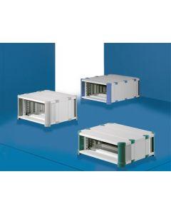 "Heitec HeiCase solid RAL5012 3U/½19""/300mm"