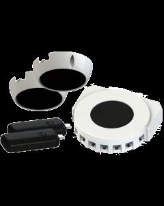 Oledcomm LiFiMAX kit: 1x AP RevF, 2x Opt.Ant., 2x USB stick