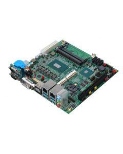 Commel LV-67WT7 mini-ITX SBC met Coffee Lake processor en diverse I/O opties voor industriële toepassingen.