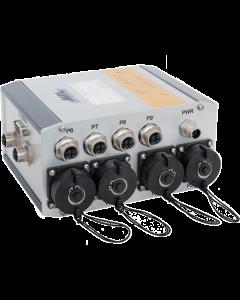 MAGBES-F211R Mngt Gigabit Switch MAGBES62-2 Flange mnt 8prt RJ45 5-36VDC