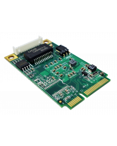 PCI Express mini card support up to 2.5 Gigabit Ethernet