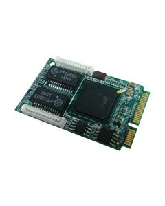 PCI Express mini card support two Giga LAN