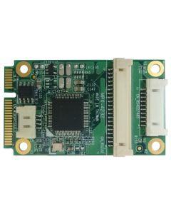 2x RS232 & 2x RS422/485 PCIE mini card