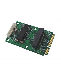 M.2 (NGFF) to Mini-PCIe adapter with Gigabit Ethernet