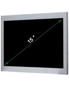 15'' Resistive Metal Panel PC Celeron J1900 24V
