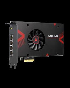 PCIE-GIEIMX Adlink 4 channel Intel Movidius Myriad GigE AI frame grabber