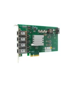 PCIE-POE354AT 4-port gigabit PoE(25.5W) adapter Intel i350-AM4 PCIe-x4