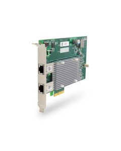 PCIE-POE550X 2-port 10GbE Network Adapter IEEE 802.3at PoE+ Capability