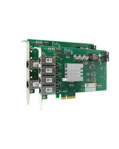 PCIE-POE352AT 2-port gigabit PoE(25.5W) adapter Intel i350-AM2 PCIe-x4