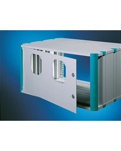 Heitec Rear door HC for fan installation 4U/19""