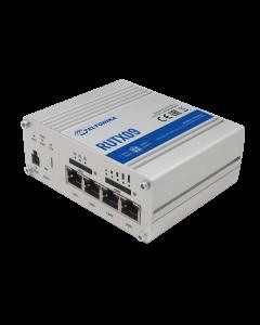 Teltonika RUTX09 router met ruggedized behuizing is geschikt voor de meest veeleisende industriële omgeving.