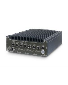 IP67 waterproof fanless pc with 8x M12 PoE+ & SuperCAP UPS