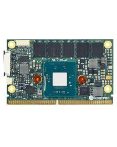 SMARC Atom E3827, 2x1.75GHz, 1GB DDR3L ECC, 4GB SLC eMMC