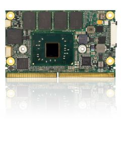 SMARC N3350, 4GB DDR3L, 8GB eMMC SLC,commercial temperature