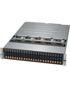 2U SuperStorage Xeon NVMe front loading server