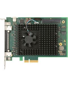 Tews TPCE636 PCIe Module with Xilinx FPGA for Analog I/O. Contact Arcobel.com.