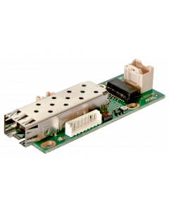 μTX2FX Ultra Compact Open Frame Ethernet Media Converter Copper to Fiber Optic